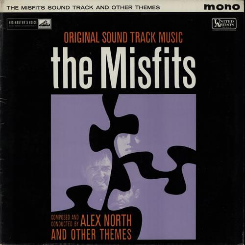 Alex North The Misfits vinyl LP album (LP record) UK A8FLPTH583538
