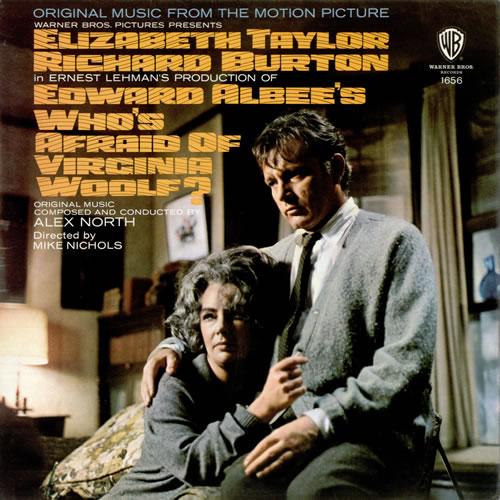 Alex North Who's Afraid Of Virginia Woolf? vinyl LP album (LP record) UK A8FLPWH476996