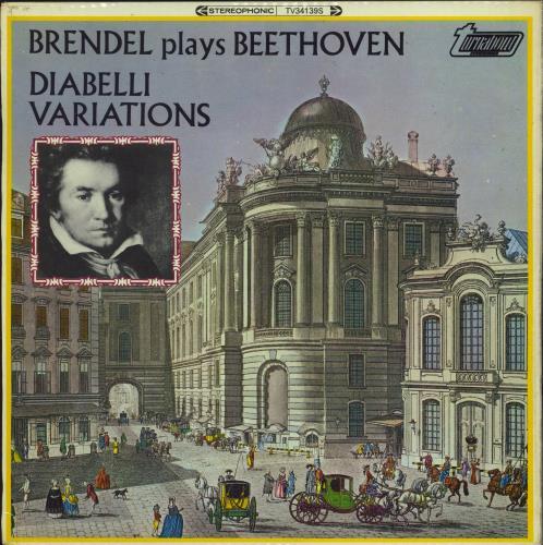 Alfred Brendel Beethoven: Diabelli Variations vinyl LP album (LP record) Dutch F6GLPBE773086