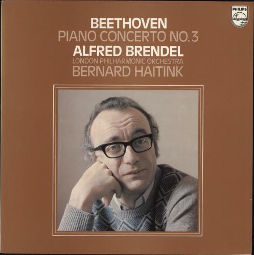 Alfred Brendel Beethoven: Piano Concerto No. 3 vinyl LP album (LP record) UK F6GLPBE741145
