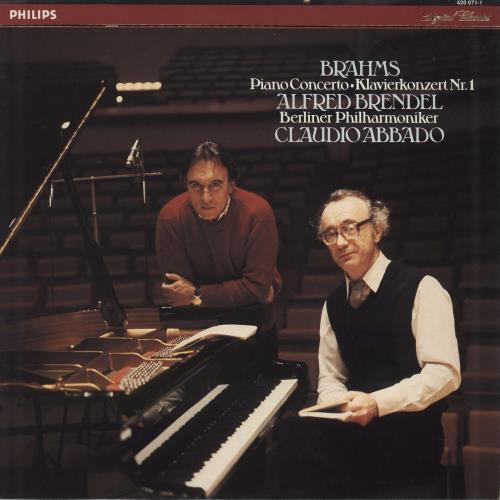 Alfred Brendel Brahms: Piano Concerto No. 1 in D Minor, Op.15 vinyl LP album (LP record) Dutch F6GLPBR772456