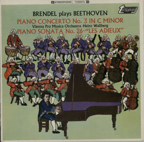 Alfred Brendel Brendel Plays Beethoven vinyl LP album (LP record) UK F6GLPBR615713