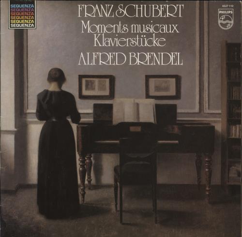 Alfred Brendel Franz Schubert: Moments Musicaux / Klavierstücke vinyl LP album (LP record) Dutch F6GLPFR772401