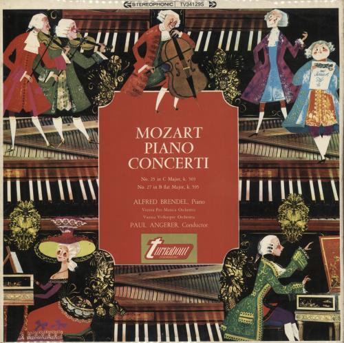Alfred Brendel Mozart: Piano Concerto No. 17 In G Major, K.453 vinyl LP album (LP record) UK F6GLPMO743526