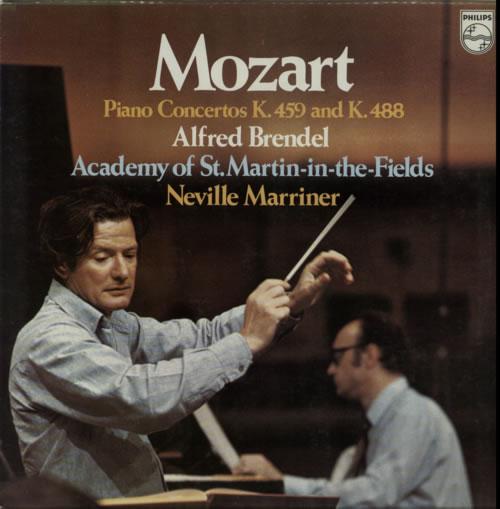 Alfred Brendel Mozart: Piano Concertos K.459 And K.488 vinyl LP album (LP record) Dutch F6GLPMO612253