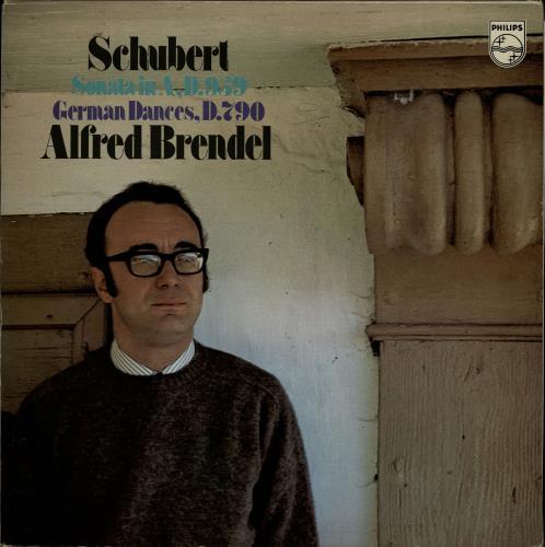 Alfred Brendel Schubert: Piano Sonata in A, D.959 & 12 German Dances D.790 vinyl LP album (LP record) Dutch F6GLPSC764420