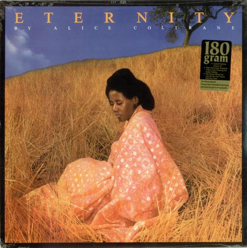 Alice Coltrane Eternity vinyl LP album (LP record) US 2ACLPET494850