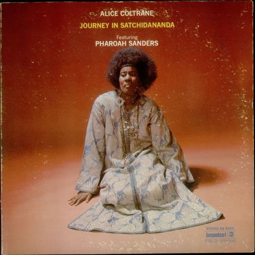 Alice Coltrane Journey In Satchidananda vinyl LP album (LP record) US 2ACLPJO543016