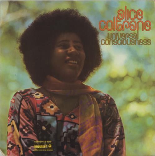 Alice Coltrane Universal Consciousness vinyl LP album (LP record) US 2ACLPUN444488
