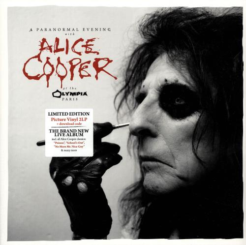 Alice Cooper A Paranormal Evening With Alice Cooper At The Olympia Paris - Sealed picture disc LP (vinyl picture disc album) German COOPDAP703043
