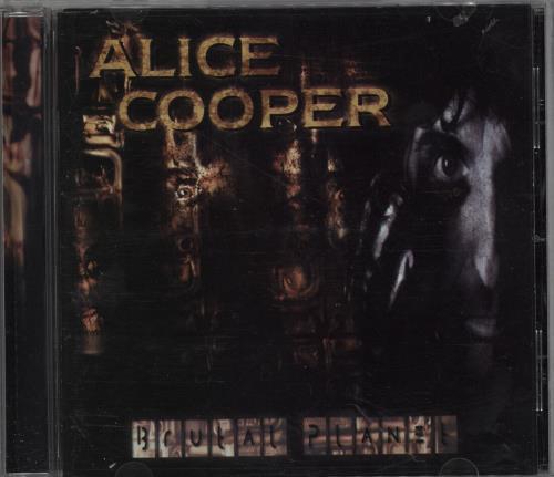 Alice Cooper Brutal Planet CD album (CDLP) US COOCDBR752259
