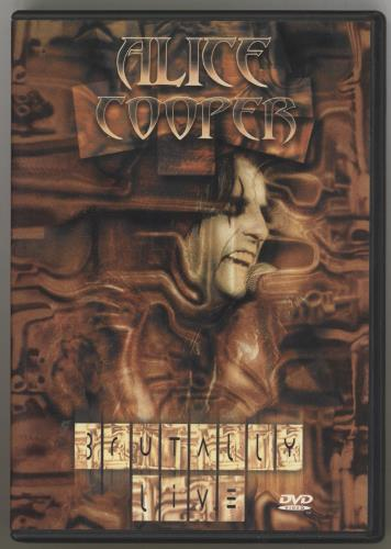 Alice Cooper Brutally Live DVD UK COODDBR721448