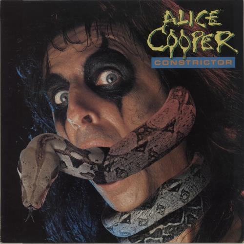 Alice Cooper Constrictor + Insert vinyl LP album (LP record) UK COOLPCO444836