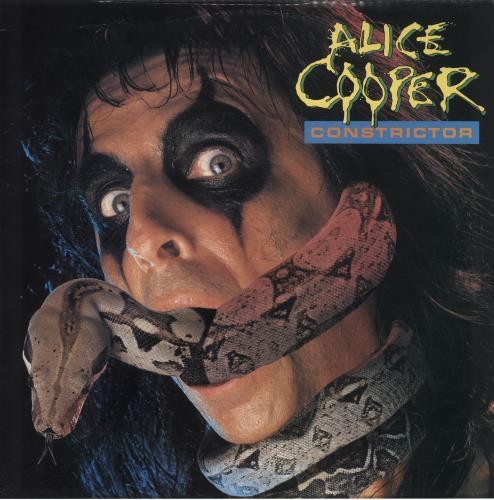 Alice Cooper Constrictor - EX vinyl LP album (LP record) UK COOLPCO653844