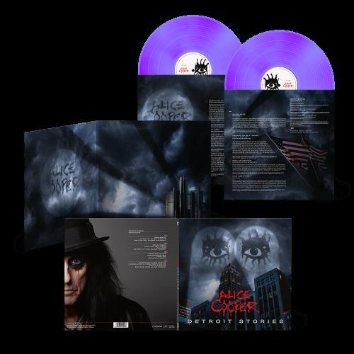 Alice Cooper Detroit Stories - Purple Vinyl - Sealed 2-LP vinyl record set (Double Album) German COO2LDE774741
