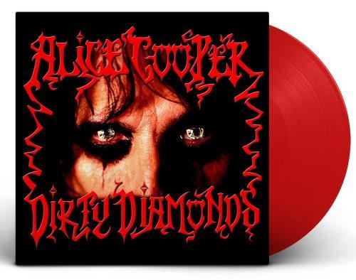 Alice Cooper Dirty Diamonds - RSD 2020 - 180GM Transparent Red Vinyl vinyl LP album (LP record) UK COOLPDI755134