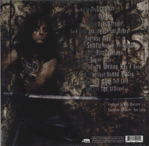 Alice Cooper Dragontown - Orange Vinyl - RSD - Sealed 2-LP vinyl record set (Double Album) US COO2LDR752594