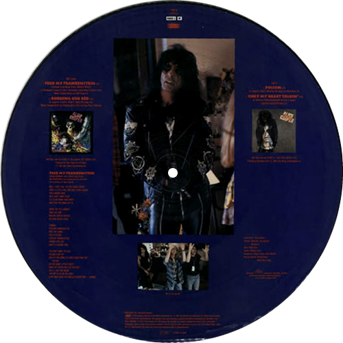 """Alice Cooper Feed My Frankenstein 12"""" vinyl picture disc 12inch picture disc record UK COO2PFE06316"""
