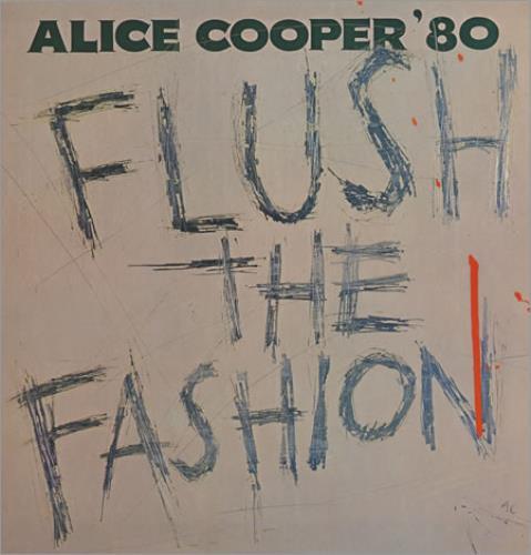 Alice Cooper Flush The Fashion vinyl LP album (LP record) Dutch COOLPFL402074