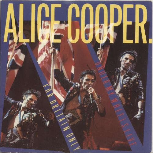 "Alice Cooper For Britain Only 7"" vinyl single (7 inch record) UK COO07FO60644"