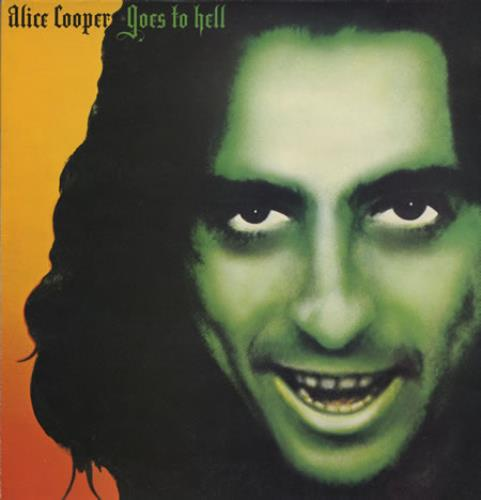 Alice Cooper Goes To Hell - 1st vinyl LP album (LP record) UK COOLPGO400354