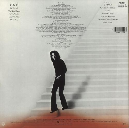 Alice Cooper Goes To Hell vinyl LP album (LP record) German COOLPGO723646