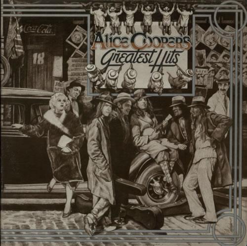 Alice Cooper Greatest Hits - 1st vinyl LP album (LP record) UK COOLPGR235329
