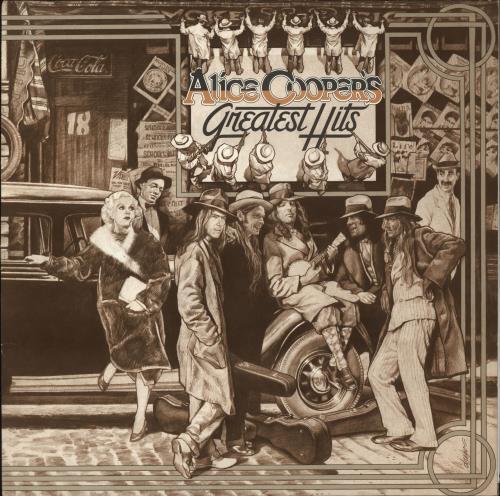 Alice Cooper Greatest Hits - 2nd vinyl LP album (LP record) UK COOLPGR386123