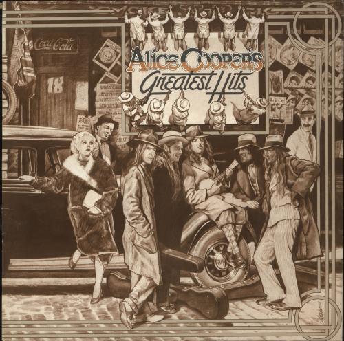 Alice Cooper Greatest Hits vinyl LP album (LP record) German COOLPGR739403