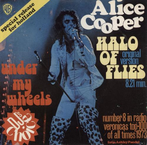 "Alice Cooper Halo Of Flies 7"" vinyl single (7 inch record) Dutch COO07HA555003"