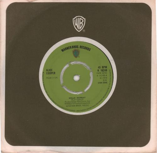 "Alice Cooper Hello Hurray - 4pr 7"" vinyl single (7 inch record) UK COO07HE575463"