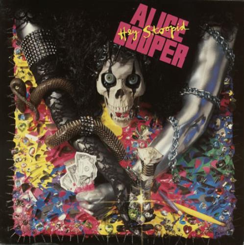 Alice Cooper Hey Stoopid vinyl LP album (LP record) Dutch COOLPHE389526