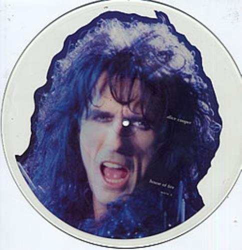Alice Cooper House Of Fire - Uncut uncut picture disc (vinyl) UK COOUNHO05721