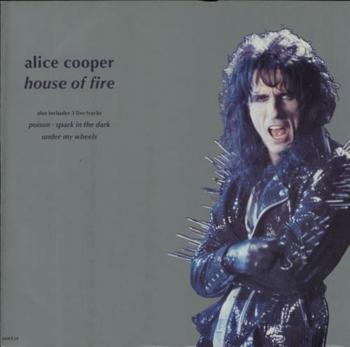 "Alice Cooper House Of Fire 12"" vinyl single (12 inch record / Maxi-single) UK COO12HO610914"