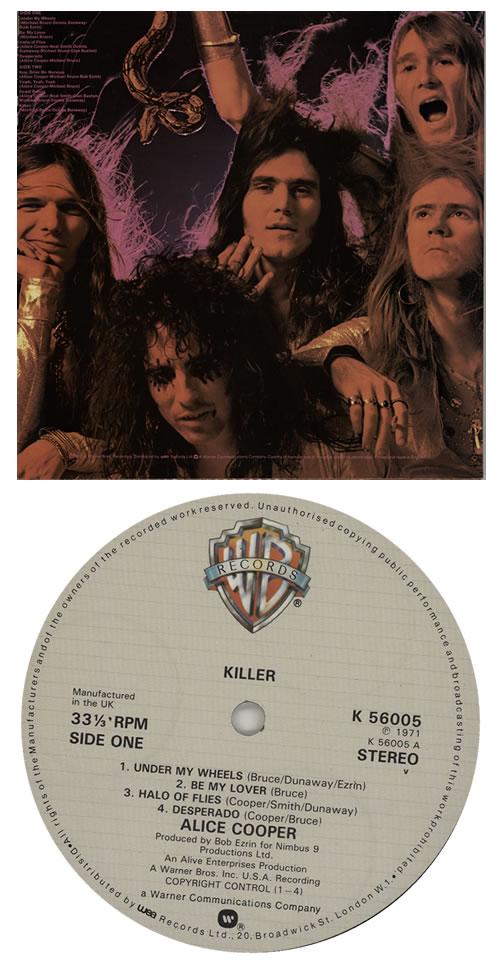 Alice Cooper Killer - 3rd vinyl LP album (LP record) UK COOLPKI391804