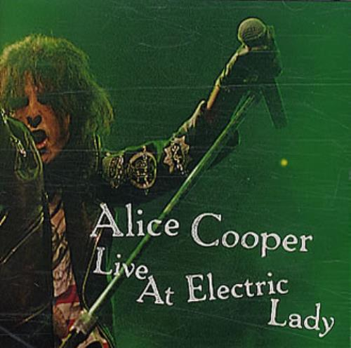 Alice Cooper Live At Electric Lady Japanese CD Album (CDLP