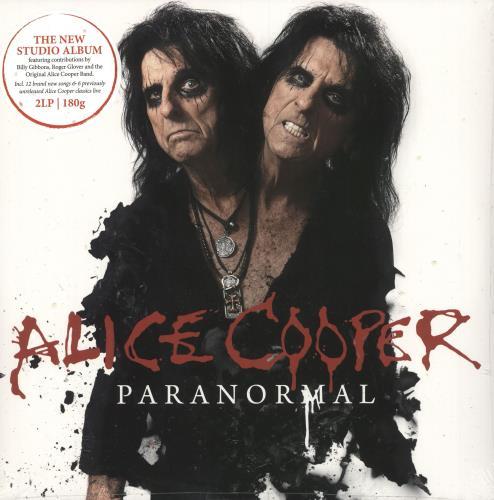 Alice Cooper Paranormal - 180 Gram - Sealed 2-LP vinyl record set (Double Album) German COO2LPA749104
