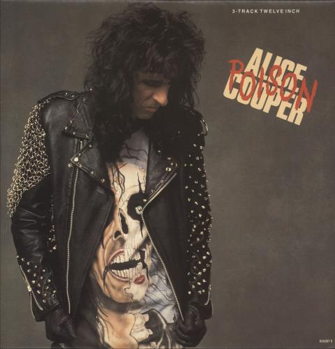 "Alice Cooper Poison 12"" vinyl single (12 inch record / Maxi-single) UK COO12PO332319"