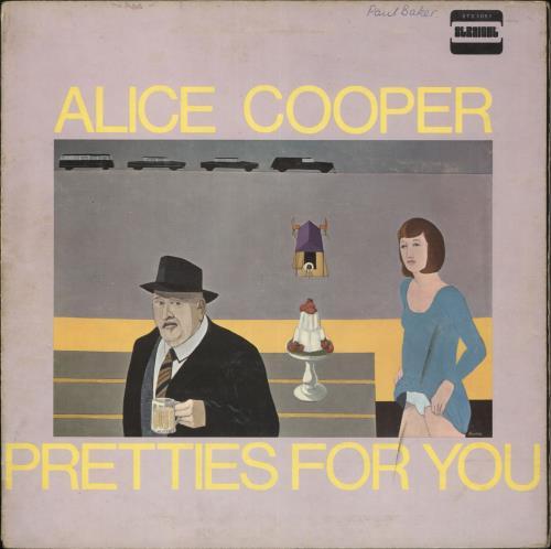 Alice Cooper Pretties For You - WOS vinyl LP album (LP record) UK COOLPPR606817