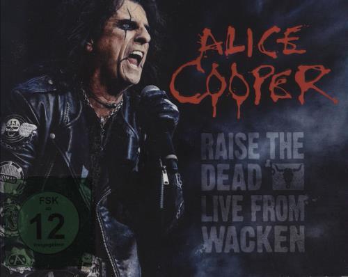 Alice Cooper Raise The Dead: Live From Wacken 3-disc CD/DVD Set German COO3DRA751879