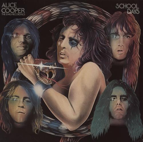 Alice Cooper School Days 2-LP vinyl record set (Double Album) French COO2LSC760790