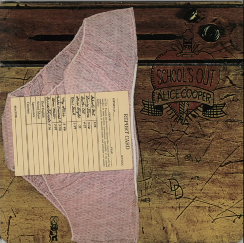 Alice Cooper School S Out Pink Panties Amp Report Card Us