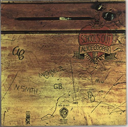 Alice Cooper School's Out - 1980s vinyl LP album (LP record) German COOLPSC740376