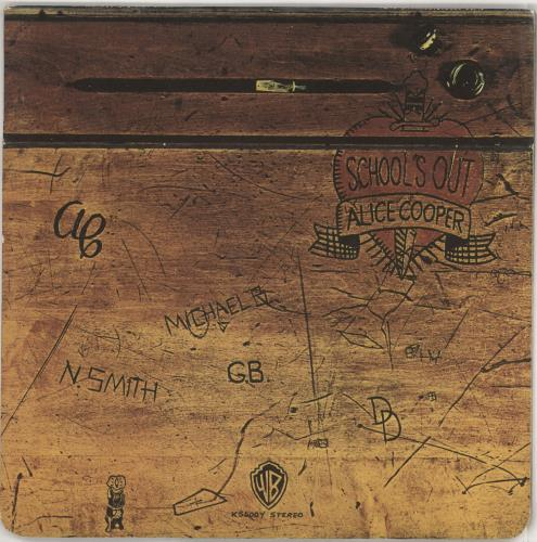 Alice Cooper School's Out - EX vinyl LP album (LP record) UK COOLPSC582610