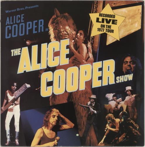 Alice Cooper The Alice Cooper Show - White WB label With Lines vinyl LP album (LP record) German COOLPTH726980