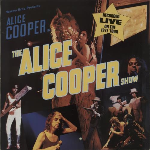Alice Cooper The Alice Cooper Show vinyl LP album (LP record) German COOLPTH683965