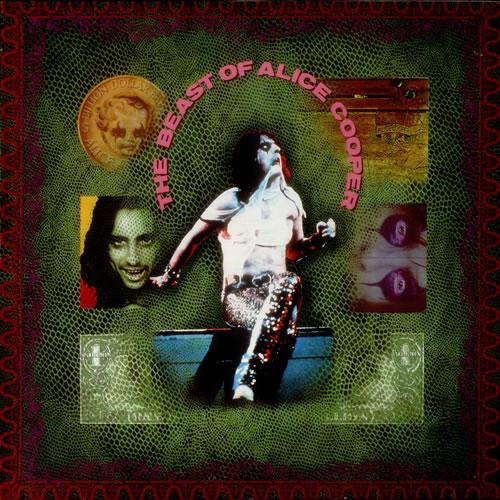 Alice Cooper The Beast Of Alice Cooper vinyl LP album (LP record) UK COOLPTH544143