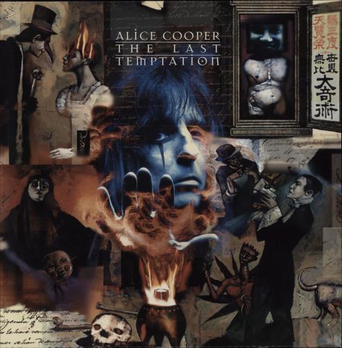 Alice Cooper The Last Temptation vinyl LP album (LP record) Dutch COOLPTH750637