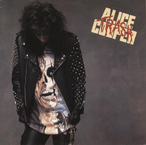 Alice Cooper Trash vinyl LP album (LP record) UK COOLPTR277372