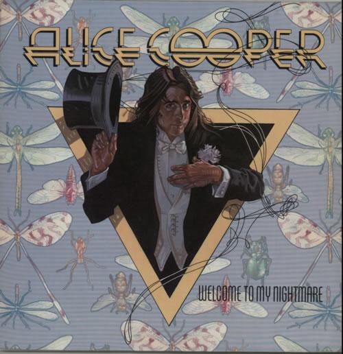 Alice Cooper Welcome To My Nightmare vinyl LP album (LP record) US COOLPWE602264